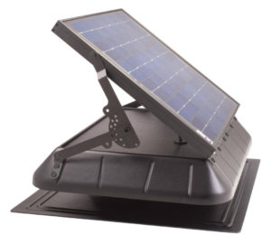 SunRise 1650 Flat Base with Tilting 36W Panel and Thermostat