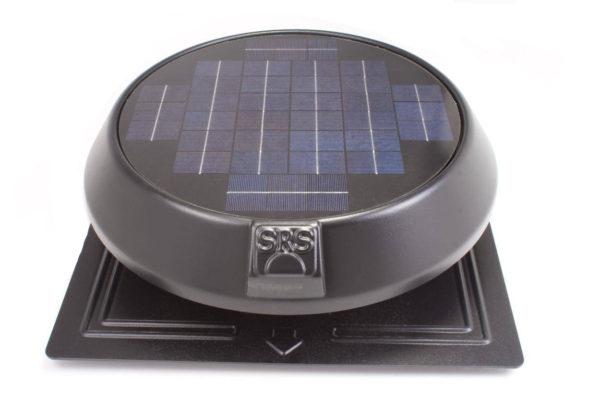sunrise solar fan